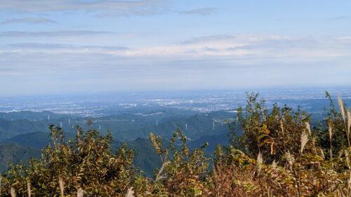 棒ノ折山山頂からの景色