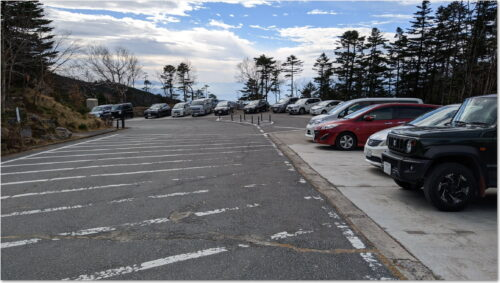 大弛峠駐車場