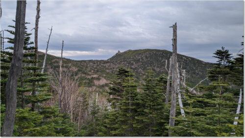 金峰山と五丈岩