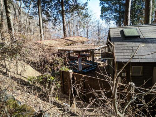 清滝小屋の炊事場
