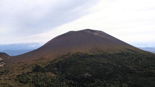 浅間山の全容